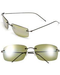 Maui Jim - Frigate Polarizedplus2 65mm Sunglasses - Dark Gunmetal/ Maui Ht - Lyst