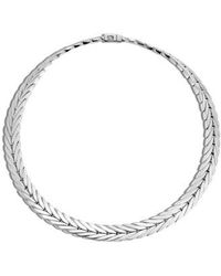 John Hardy - 'classic Chain' Chain Collar Necklace - Lyst