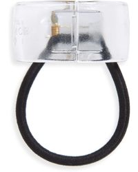 France Luxe - Elodie Cuff Ponytail Holder - Lyst