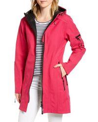 Ilse Jacobsen - Rain 7 Hooded Water Resistant Coat - Lyst