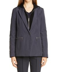 Lafayette 148 New York Grady Removable Dickey Jacket - Multicolor