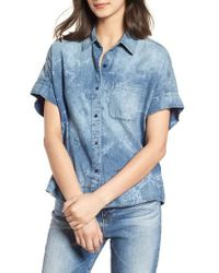 AG Jeans - Hadley Denim Shirt - Lyst