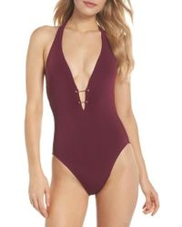 Robin Piccone | Luca Halter One-piece Swimsuit | Lyst