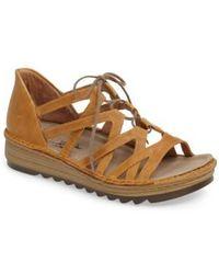 Naot | Yarrow Sandal | Lyst