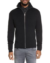 Calibrate - Zip Front Sweater Jacket - Lyst