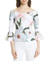 Ted Baker - Chatsworth Bloom Top - Lyst