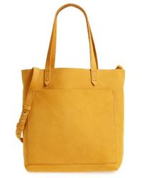 Madewell - Medium Leather Transport Tote - Lyst