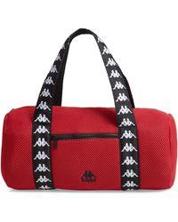 80429c4faecc Kappa - Large Mesh Athletic Duffel Bag - Lyst