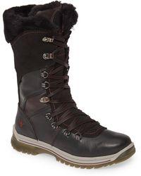 Santana Canada Marinda Waterproof Faux Fur Boot - Black
