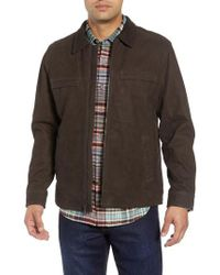 Tommy Bahama - Elliott Bay Leather Jacket - Lyst