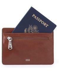Hobo - Euro Slide Credit Card & Passport Case - Lyst