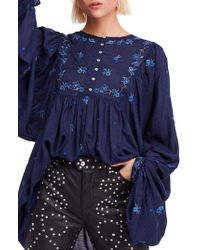 Free People - Kiss From A Rose Tunic - Lyst