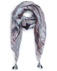 Treasure & Bond - Print Tassel Wrap - Lyst