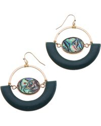 Nakamol - Abalone Drop Earrings - Lyst