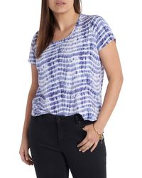 Vince Camuto - Sandy Waves T-shirt - Lyst