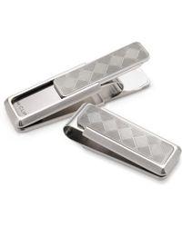 M-clip - M-clip Herringbone Money Clip - Metallic - Lyst