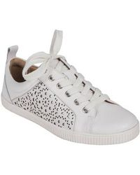 Earth - Earth Tangor Perforated Sneaker - Lyst