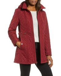 Gallery - Quilted Hooded Jacket - Lyst