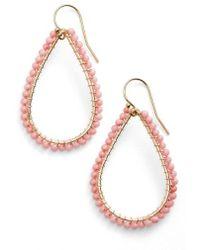 Ki-ele - 'lani' Teardrop Earrings - Lyst