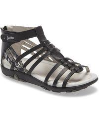 Jambu Bonsai Gladiator Sandal - Black