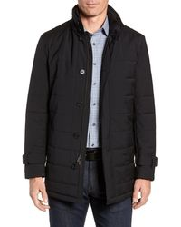 Cardinal Of Canada Quilted Car Coat - Black