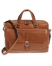 Frye | Oliver Leather Briefcase | Lyst