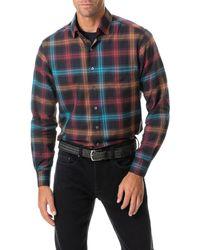 Rodd & Gunn Freemans Bay Sports Fit Plaid Button-up Shirt - Multicolour