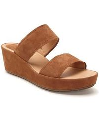Me Too | Albany Wedge Sandal | Lyst