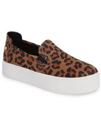 BCBGMAXAZRIA - Casey Platform Slip-on Sneaker - Lyst