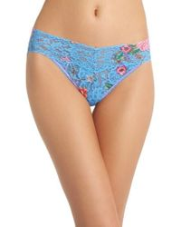 Hanky Panky - Print V-kini Bikini - Lyst