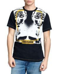 True Religion - Two Faced T-shirt - Lyst