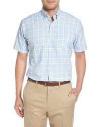 Peter Millar - Belltown Regular Fit Tartan Sport Shirt - Lyst