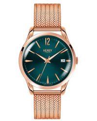 Henry London - Stratford Mesh Strap Watch - Lyst