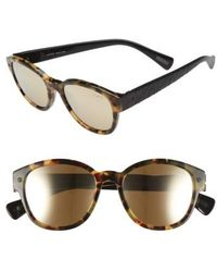 Lanvin - 50mm Retro Sunglasses - - Lyst
