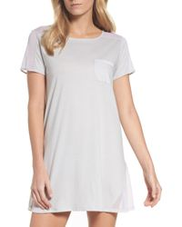 Naked - Cotton Sleep Shirt - Lyst