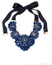 Kate Spade | Snowy Nights Sequin Statement Necklace | Lyst