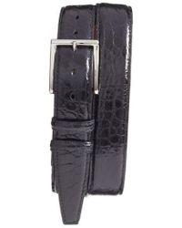 Torino Leather Company - Genuine American Alligator Leather Belt - Lyst