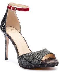 Jessica Simpson Daisile Ankle Strap Sandal - Multicolour