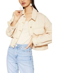 c9cdb412a Avril Shirt Jacket - Natural