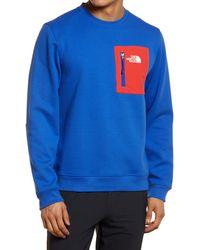 The North Face - Tech Crewneck Sweatshirt - Lyst