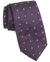 BOSS - Geometric Silk Tie - Lyst