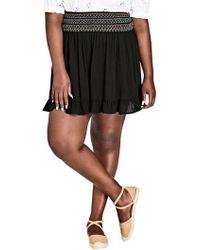 City Chic - Makana Skirt - Lyst