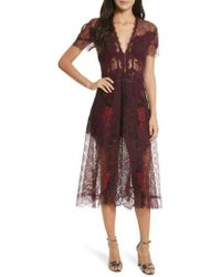 Jonathan Simkhai - Grommet Detail Lace Dress - Lyst