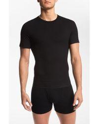 Spanx - Spanx Crewneck Cotton Compression T-shirt - Lyst