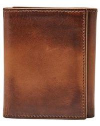 Fossil   Paul Leather Wallet - Metallic   Lyst