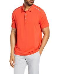 Cutter & Buck Fusion Classic Fit Polo - Orange