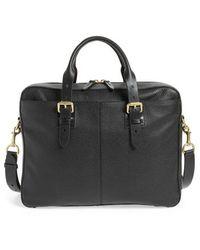 Cole Haan - Brayton Leather Attache Briefcase - - Lyst