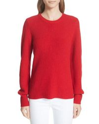 Tory Burch - Kennedy Shaker Stitch Sweater - Lyst