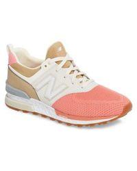 New Balance - 574 Fresh Foam Sport Sneaker - Lyst