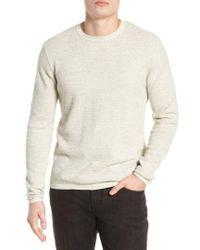 Grayers - Slub Thermal Knit Sweater - Lyst